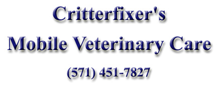 Critterfixers Mobile Veterinary Care